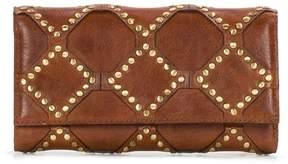 Patricia Nash Terresa Diamond Stud Leather Wallet with RFID