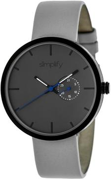 Simplify The 3900 Collection SIM3903 Unisex Watch with Leather Strap