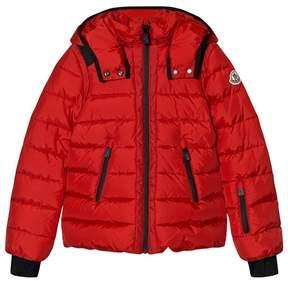 Moncler Red Emeraude Nylon Tech Jacket