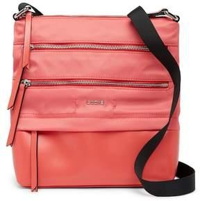 Lodis Kate Leather Trimmed Nylon RFID Wanda Crossbody Bag