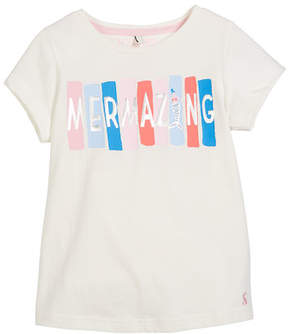 Joules Mermazing Short-Sleeve Graphic Tee, Size 3-10