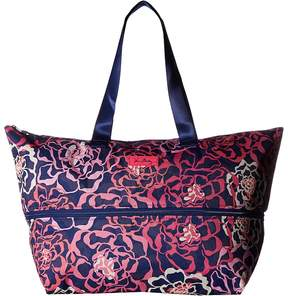 Vera Bradley Lighten Up Expandable Travel Bag Weekender/Overnight Luggage