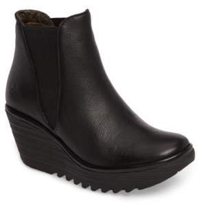 Fly London Women's Yoss Wedge Bootie