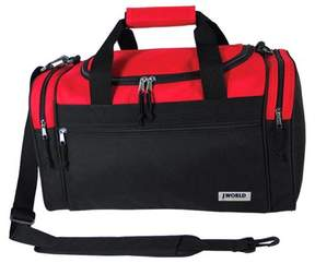 J-World J World Copper 24 Duffel Bag - Red/Black