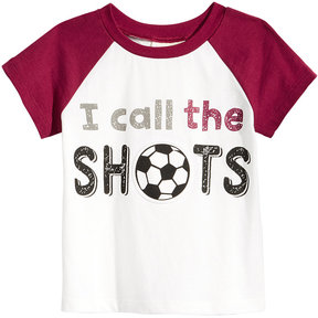First Impressions Call The Shots-Print Cotton T-Shirt, Baby Boys (0-24 months), Created for Macy's