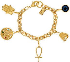 Elizabeth Taylor As Is The 5 Charm Bracelet