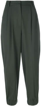 Antonio Marras pleated tailored cropped trousers