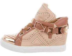 Ivy Kirzhner Lunar High-Top Sneakers