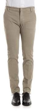 Entre Amis Men's Beige Cotton Pants.