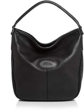 Longchamp Mystery Hobo - BLACK/GUNMETAL - STYLE