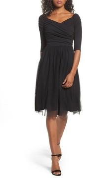 Chelsea28 Women's Tulle Fit & Flare Dress