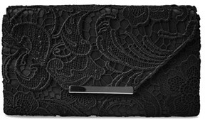 Jessica McClintock Riley Lace Envelope Clutch.