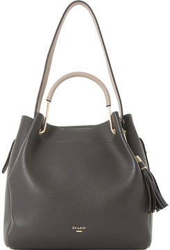 Dune Daura metal handle slouch bag