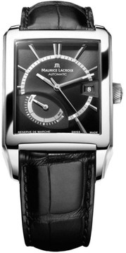 Maurice Lacroix De Marche PT6207-SS001-330 Stainless Steel 39.5mm Mens Watch