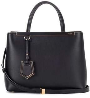Fendi 2Jours Petite leather tote