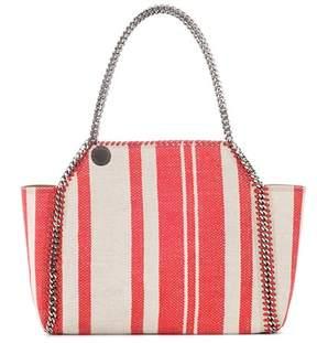 Stella McCartney Falabella striped reversible tote