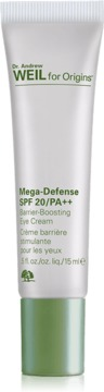 Dr. Andrew Weil for Origins Mega-Defense SPF20/PA++ Barrier-Boosting Eye Cream