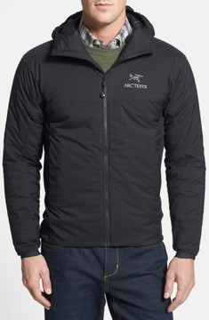 Arc'teryx Men's 'Atom Lt' Trim Fit Wind & Water Resistant Coreloft(TM) Hooded Jacket