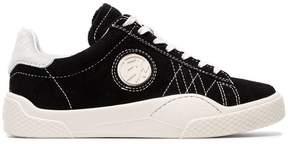 Eytys Black wave suede sneakers