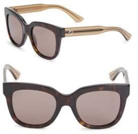 Gucci 51MM, Cat Eye Sunglasses