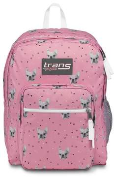 JanSport Trans by 17 SuperMax Backpack - Fierce Frenchies