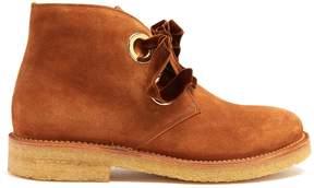 Rupert Sanderson Lester suede ankle boots