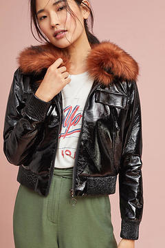 Capulet Vegan Leather Flight Jacket