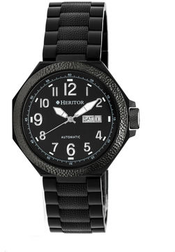 Heritor Spartacus Mens Black Bracelet Watch-Herhr5404