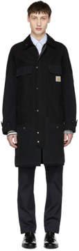 Junya Watanabe Black Carhartt Edition Cotton Duck Coat