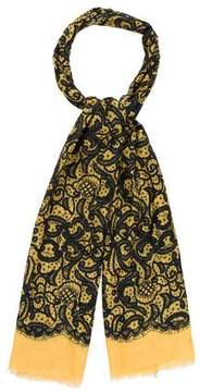 Dolce & Gabbana Abstract Cotton Scarf