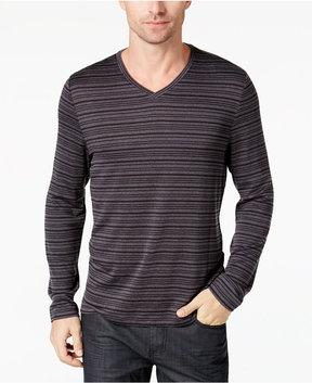 Alfani Men's Hacci Stripe Sweater, Created for Macy's