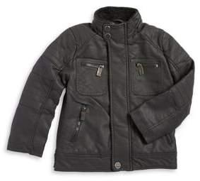 Urban Republic Little Boys Faux Leather Jacket