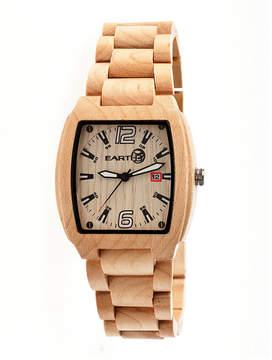 Earth Wood Sagano Khaki Bracelet Watch with Date ETHEW2401