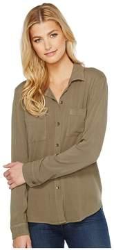 Splendid Button Up Shirt Women's Long Sleeve Button Up