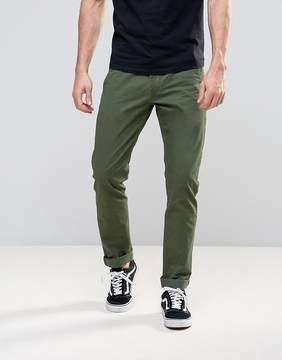 Lee Slim Chino Olive