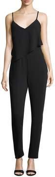 Armani Exchange Women's Solid V-Neck Jumpsuit