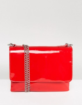 Monki Patent Chain Bag