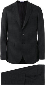 Boglioli checked two-piece suit