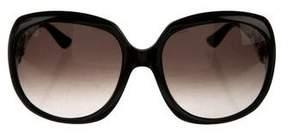 Salvatore Ferragamo Strass Gancini Sunglasses