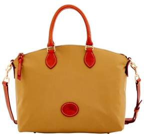 Dooney & Bourke Nylon Satchel - KHAKI - STYLE