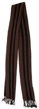 Burberry Striped Cashmere Scarf