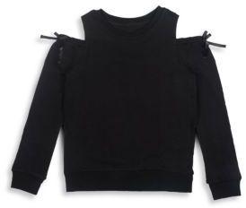 Hudson Girl's Audrey Cotton Sweatshirt