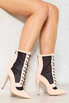 Nasty Gal nastygal Like a Virgin Lace-Up Boot