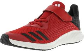 adidas Fortarun El Scarlet / Black White Ankle-High Fabric Running Shoe - 5M