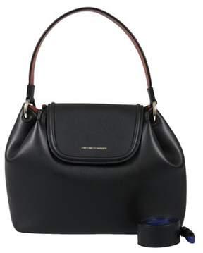 Emporio Armani Y3e082 Yh24a 82274 Black Satchel Handbag.