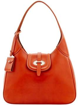 Dooney & Bourke Florentine Toscana Large Hobo Shoulder Bag - GINGER - STYLE