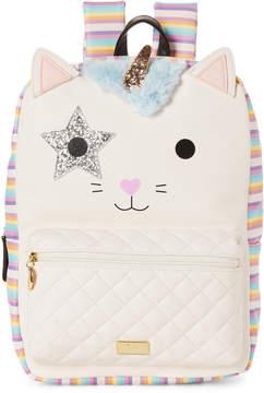 Betsey Johnson Rainbow Kate Unicorn Backpack