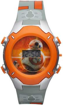 Star Wars Kohl's Episode VII The Force Awakens Kids' BB-8 Digital Light-Up Watch