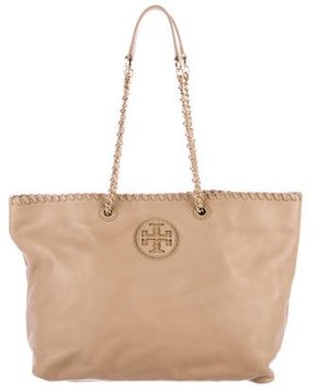 Tory Burch Large Marion Tote - NEUTRALS - STYLE