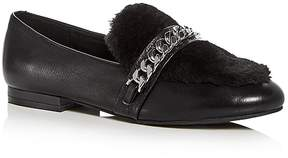 Kenneth Cole Women's Wilda Leather & Faux-Fur Loafers